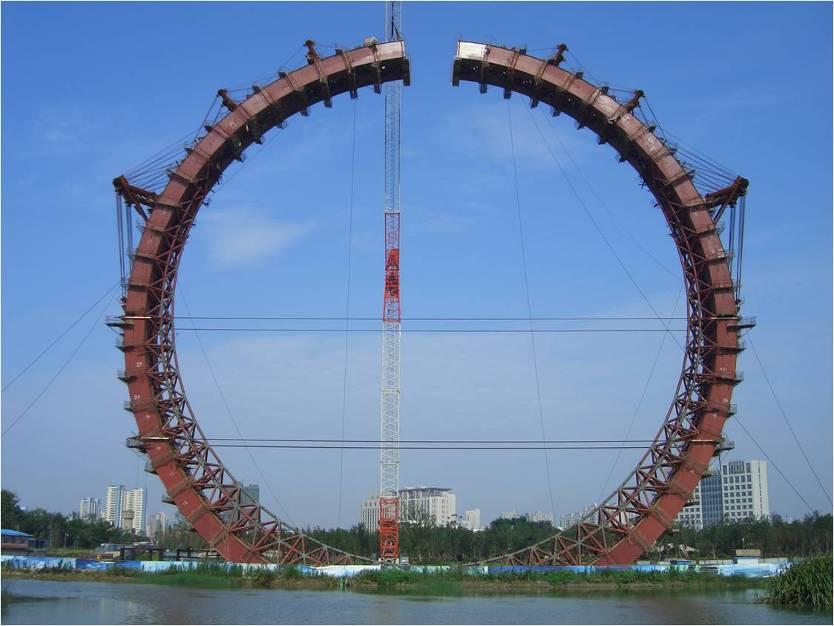 《常州紫荆公园景观塔超大直径
